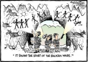 Start of the Balkan wars