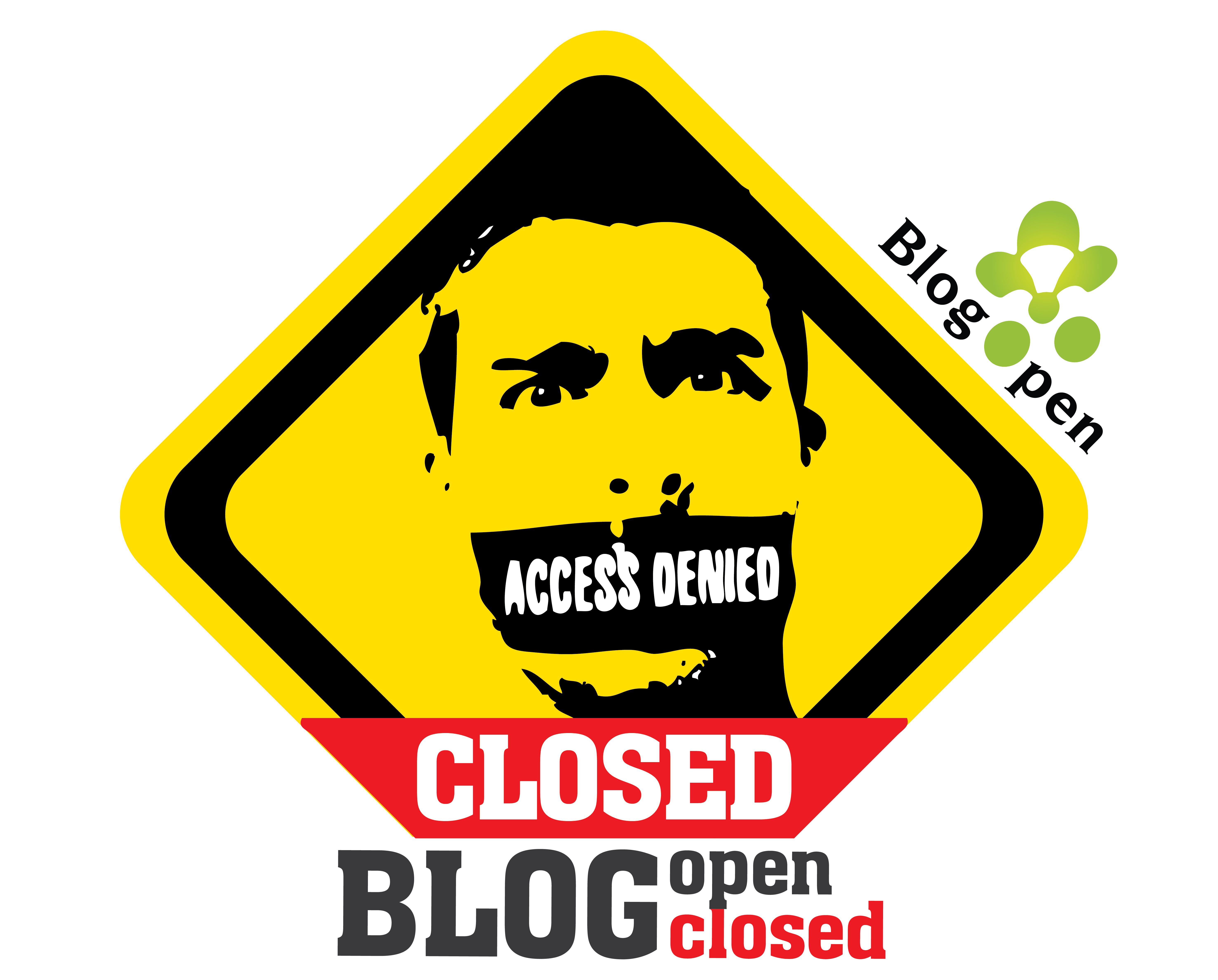 Blog open-Blog closed
