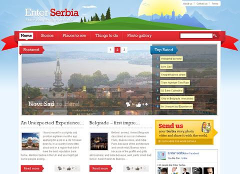 Enter Serbia